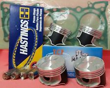YCP P29 76mm Teflon Coated Pistons High Comp+Rings+Genuine Honda Gasket D16 D15