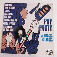 """33T POP PARTY Disque LP 12"""" 28 SUCCES CHANTES -SHAFT SAMSON AND DELILAH MFP 5496"""