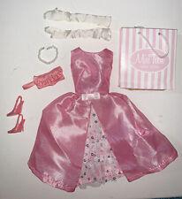 New ListingIntegrity Toys Fashion Royalty Poppy Parker Dressmaker Detail Dress Pink Satin