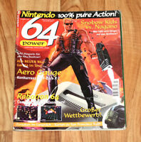 1998 Nintendo 64 Magazine Duke Nukem Zelda Ocarina of Time F-Zero X Yoshi Story