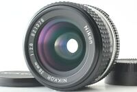 【 MINT 】 Nikon Ai-s Nikkor 28mm f/2.8 MF Ais Wide Angle Lens From JAPAN #1862