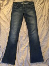 """7 For All Mankind Womens Jeans Size 26 Rocker - Boot Cut - Inseam 31"""""""