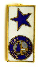 Spilla Sci CAI Biella - Club Alpino Italiano (Bertoni Milano) cm 0,9 x 2