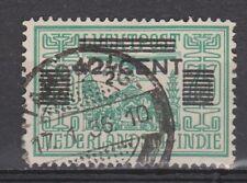 Nederlands Indie Netherlands Indies Indonesia 214 CANCEL TANDJONG 1934
