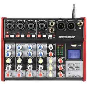 Citronic CSM-6 Compact 6-Channel Mixer with USB/Bluetooth PA & Stage