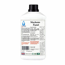 Mayhems Pastel pre agua mezclada de enfriamiento líquido refrigerante Blanco fluido 1 Litro