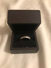 Lord Of The Rings One Ring Authentic Noble Collection Sterling Silver with Box