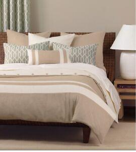 Niche Eastern Accents Penn Super Queen Comforter Duvet Cover Insert Cream Beige