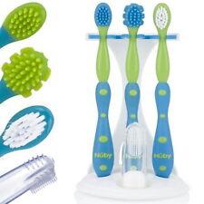 Zahn- und Zahnfleisch Pflegeset für Baby Kleinkind Zahnbürste Zahnfleischbürste