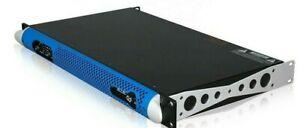 Power Amplifier 1U Sound System   2 Channel  (Bidding  x 1 ) 2000 watts