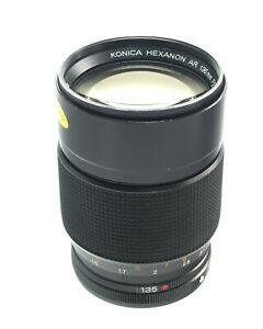 Konica Hexanon Objektiv AR 135mm F2.5  Ø62 | lens - 37460