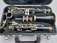 Yamaha YCL 20 CLARINET With Mouthpiece Lyre and Case