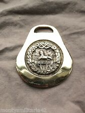 Excellent Vintage British Army South Wales Borderers (SWB) Military Horse brass