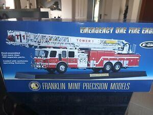 FRANKLIN MINT EMERGENCY ONE HP105 FIRE ENGINE 1/32 NMIB