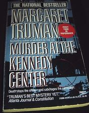 Murder at the Kennedy Center By Margaret Truman July 1990 Paperback