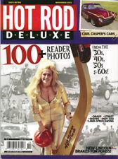 Hot Rod Deluxe Magazine November 2013 Issue Linda Vaughn Miss Hurst New
