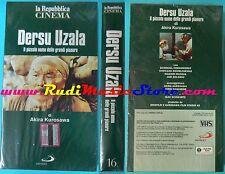 VHS film DERSU UZALA 1975 sigillata AKIRA KUROSAWA Repubblica (F95) no dvd