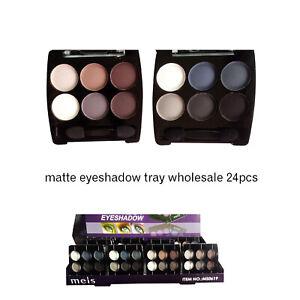matte grey or brown eyeshadow palette wholesale cosmetics tray export Europe