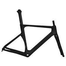 Disc brake Bicycle Frameset Full Carbon UD Matt Thru axle Road bike 700C 49cm