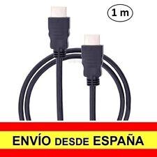 Cable HDMI 1 metro Bañado Oro Ethernet v 1.4 Full HD a1635