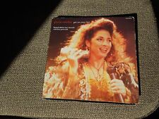 "Gloria Estefan Get On Your Feet RARE 7"" Single Postcard Pack"