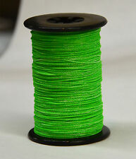 Flo. Green BCY Halo Archery Bow String Serving, .014, Free Shipping