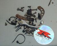 1996 SRAD GSXR 750 misc nuts bolts brackets & parts 96 97 98 99 gsxr750 gixxer