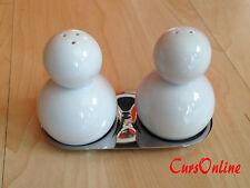 Set da Tavola Sale & Pepe in Ceramica Bianca CASA e CUCINA Dispenser Firmato