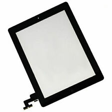 10 X Black Touch Digitizer + Home Button + Adhesive + Camera Bracket for iPad 2