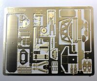 Photo Etch Detail Parts for 1/35th Willy's Jeep Model KMC35-1004 w/instructions