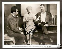 "ANNE BAXTER IN ""THE COME ON"" VINTAGE ORIGINAL HAND SIGNED 10 X 8 PHOTO UACC COA"
