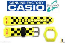 CASIO Baby-G BG-5600HZ-9V Original Yellow BAND & BEZEL Combo