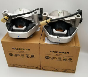 OEM Audi A6 A7 Quattro 2012-2018 Pair Set of Left & Right Engine Mounts Genuine