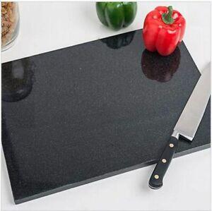 Black Granight Mirror Effect Marble Chopping Board  Kitchen Rectangular 15X30 CM
