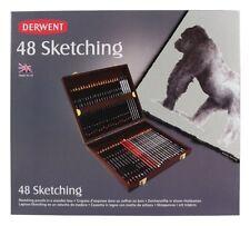 Derwent Sketching Pencil 48 Wooden Box