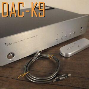 YAQIN DAC-K9 D/A Converter Vacuum Valve Tube Output HIFI DAC decoder US