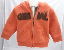KIMBALOO Veste manche longue  à capuche orange motif génial garçon 18 mois