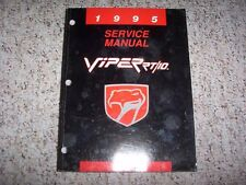 1995 Dodge Viper RT/10 Shop Service Repair Manual 8.0L V10 Coupe Convertible