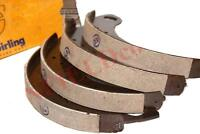 Brake Shoe Set of 4 With Brake Linings Genuine TVS For Ford Tractor