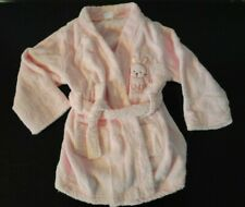 Carters Infant Baby Girl Pink Bunny Rabbit Terry Cloth Bath Robe Size 0-9 months