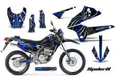 KAWASAKI KLX 250 08-13 D TRACKER GRAPHICS KIT DECALS STICKERS SPIDERX SXBLNPR