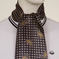 MOD PAISLEY SILK MIX SCARF SCOOTER SCENE 60s RETRO 8