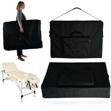 Portabe Nylon Carry Bag Case for Massage Table Therapy Couch Reiki Bed Black