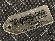 RARE NOS Gottlieb The Amazing Spiderman Pinball Key FOB Promo Plastic FREE SHIP