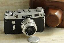 Zorki- 6 Old Russian Rangefinder Camera USSR Soviet KMZ Vintage Film Photo