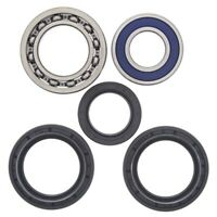 All Balls 25-1139 Rear Wheel Bearing Seal Kit for Yamaha YFM400 Kodiak 4WD 03-04