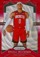 Russel westbrook 2019-20 prizm red Wave #182