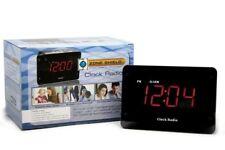 Radio Alarm Desktop Clock With 4K UHD Night Vision Hidden Nanny Spy Camera