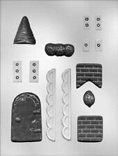 Gingerbread House Accessories Candy Mold from CK  #4310 - NEW