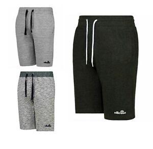 Ellesse Mens Shorts Jersey Fleece Long Casual Running Jogger Gym Jog Shorts S-XL